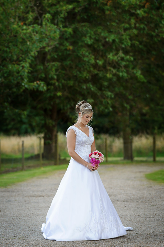 bridal portrait at down hall in hertfordshire
