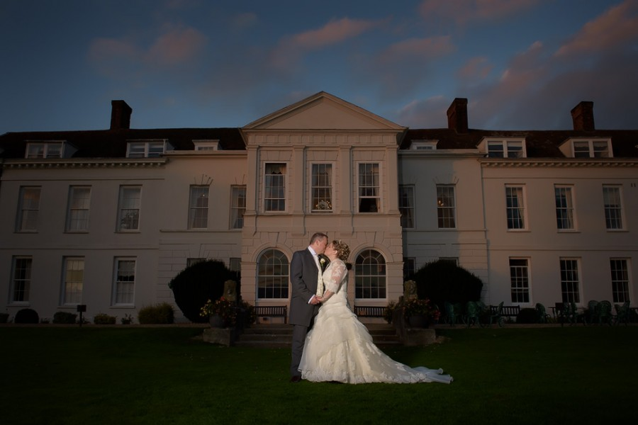Gosfield Hall Winter Wedding - Sarah and John