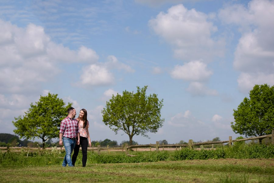 Katie and Ben - The Great Lodge engagement session