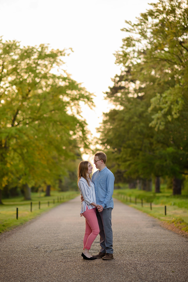 Prested Hall engagement photos