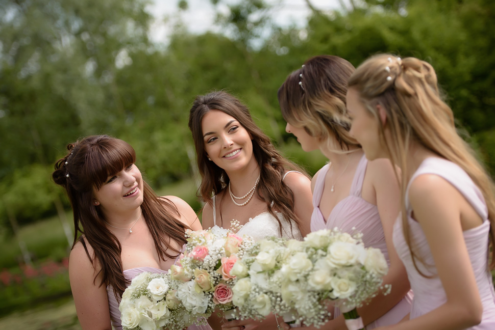 Great Lodge Great Bardfield wedding bridesmaids
