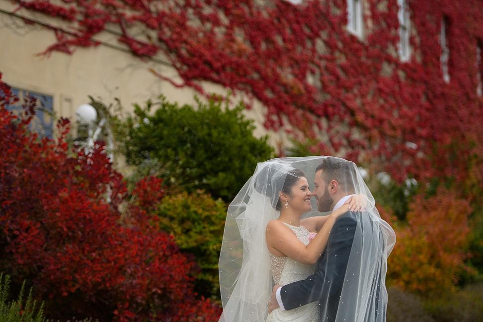 Down Hall Autumn Wedding Photos 001