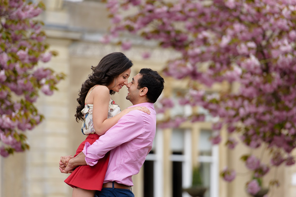 Spring Engagement photos at Down Hall - Marian and Michael
