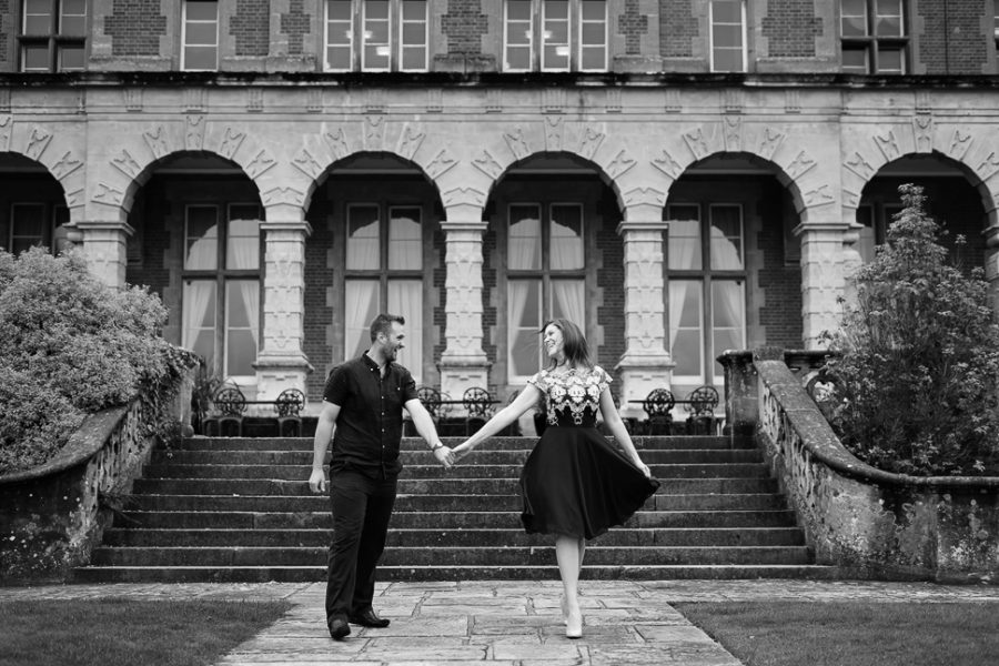 Easthampstead Park Engagement Photo Session - Rachel and Peter