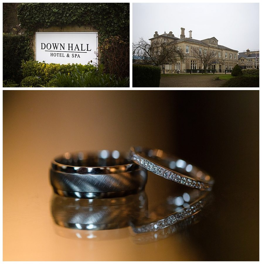 Down Hall Spa Hotel Winter Wedding photos by Matt Heath_002