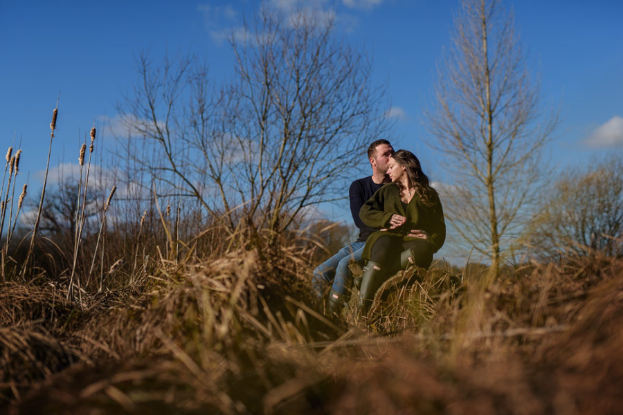 Hatfield Forest Portrait Photography - Marie and Phil
