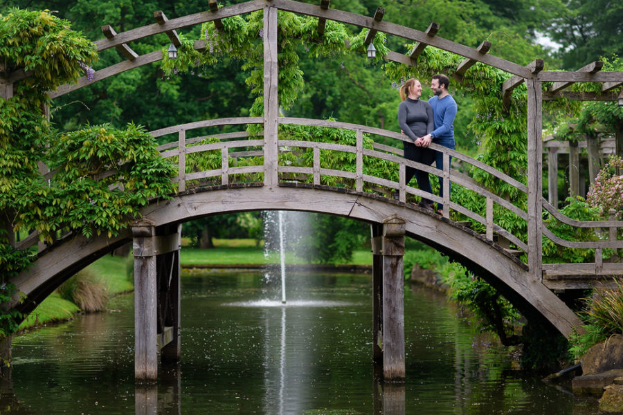 Great Fosters Engagement Photography - Lisa and Steven