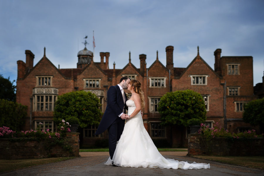 Great Fosters Wedding Photography - Lisa and Steve