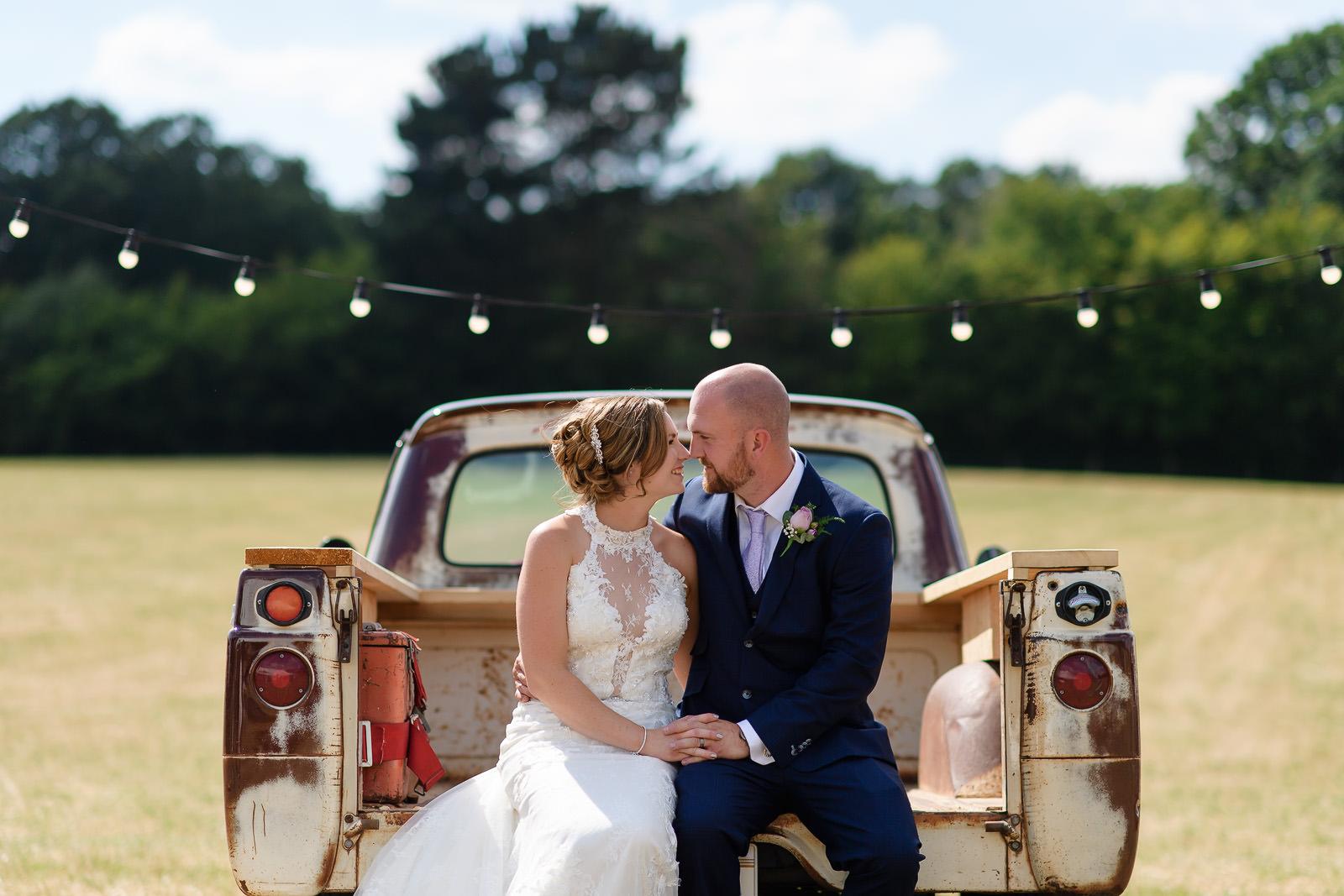 festival wedding photograph in hertfordshire