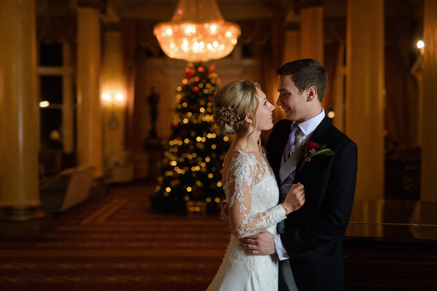 Christmas Wedding At Down Hall Hotel