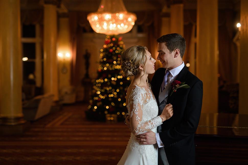 Christmas Wedding At Down Hall Hotel