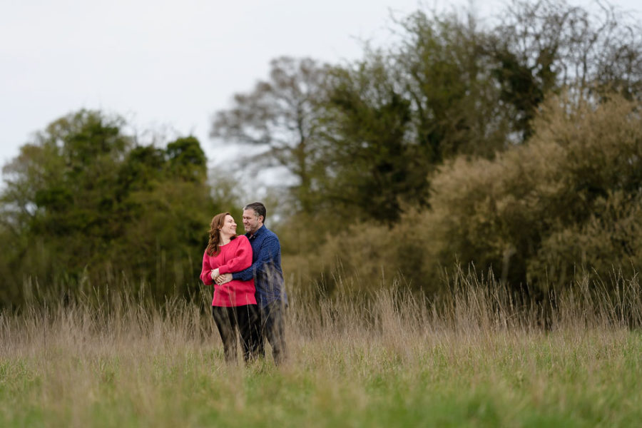 Sawbridgeworth Engagement session - Susie and Ben