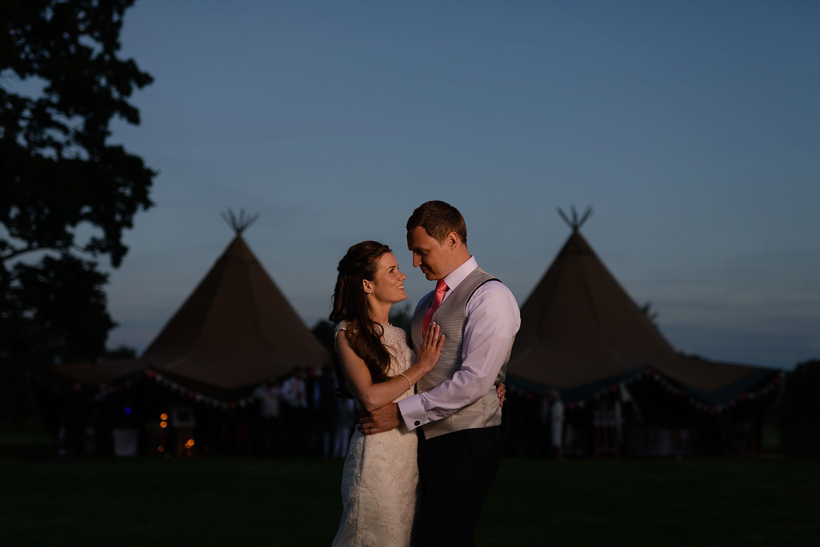 Helmingham Hall Wedding Photography Tipi