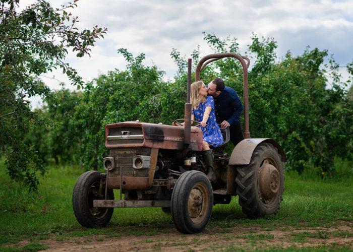 Lathcoats Farm Engagement Photo Shoot ~ Katie and Adam
