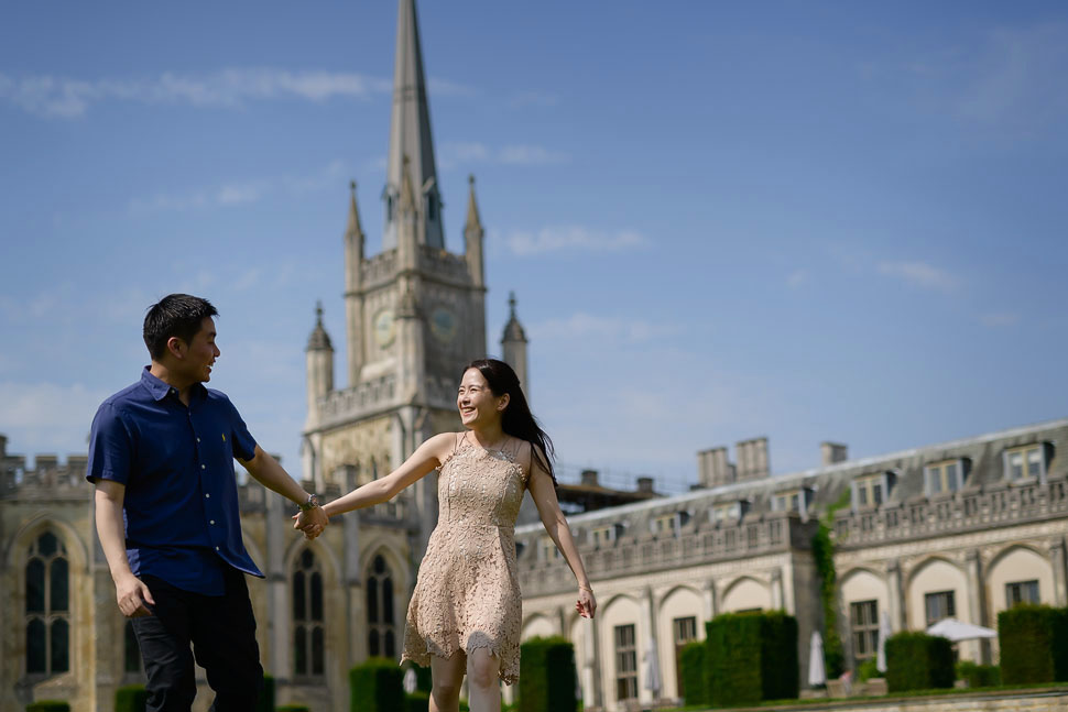 Ashridge House engagement photography